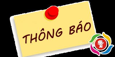 Thông báo về việc tiếp tục nghỉ học